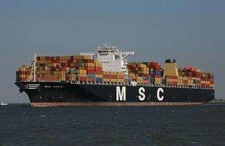 MSC  集装箱船的极限
