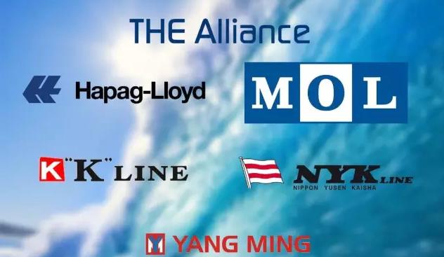 THE联盟  2018  航线服务网络